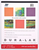 Grafix Dura-Lar Wet Media Film .004 9x12 12 sheets