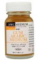 Holbein Watercolor Medium Gum Arabic 55ml (1.86fl.oz.)