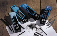 Winsor & Newton Artists' Charcoal Willow Assorted Widths 12pc