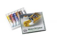 Winsor & Newton Winton Introductory Oil Color Set of 6