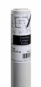 Canson Tracing Paper Roll 36in.x10yds