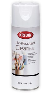 Krylon UV Resistant Clear Acrylic Coating 11oz