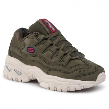 Skechers 'Energy - Wave Dancer' Ladies Trainers (Olive Green)