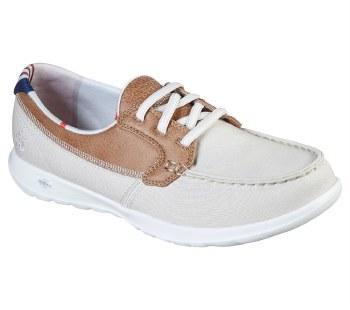 Skechers 'GOwalk Lite - Playa Vista' Ladies Shoes (Natural)