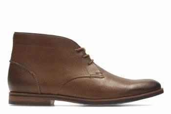 Clarks 'Broyd Mid' Mens Boots (Tan)