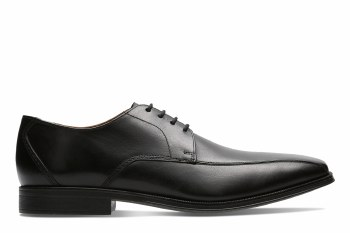 Clarks 'Gilman Mode' Mens Shoes (Black)