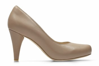 Clarks 'Dalia Rose' Ladies Heels (Nude)