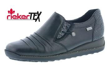 Rieker '44254' Ladies Shoes (Black)