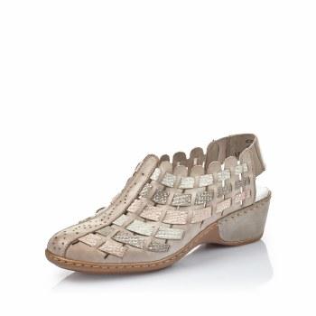 Rieker '47156' Ladies Shoes (Rose Multi)