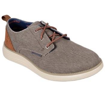 Skechers 'Status 2.0 - Pexton' Mens Shoes (Taupe)