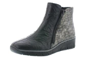 Rieker '73781' Ladies Ankle Boots (Black)