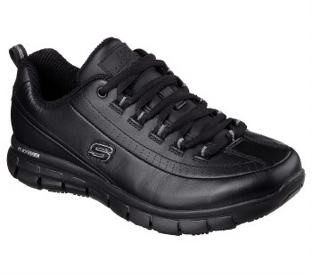 Skechers 'Work Relaxed Fit: Sure Track - Trickel' Ladies Shoes (Black)