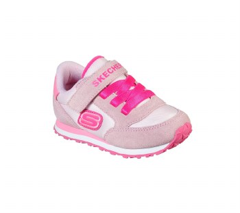 Skechers 'Retro Sneaks' Girls Shoes (Pink)