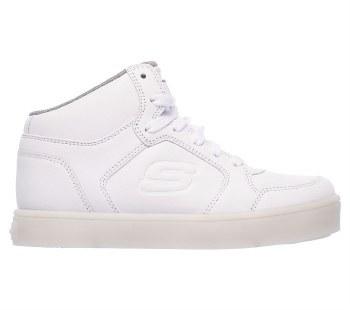 Skechers 'S Lights: Energy Lights' Boys Shoes (White)