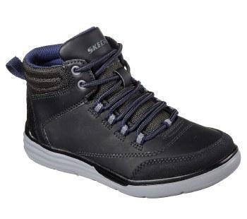 Skechers 'Maddox - Street Heights' Boys Boots (Black)