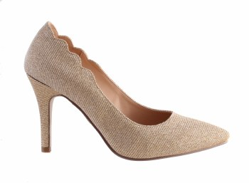 Barino '334' Ladies Heels (Gold)