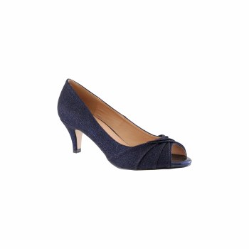 Barino '500' Ladies Heels (Navy)
