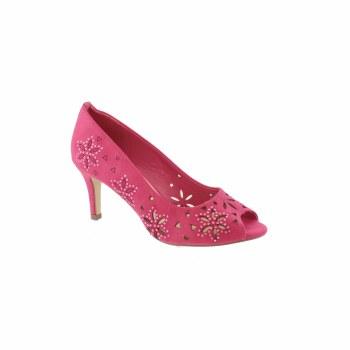 Barino '518' Ladies Heels (Fuchsia)