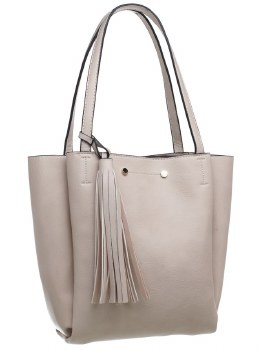 Bessie London 'BD3710' Ladies Handbag (Beige)