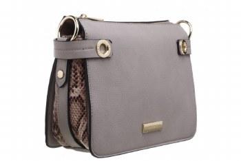 Bessie London 'BL4229' Ladies Handbag (Grey)
