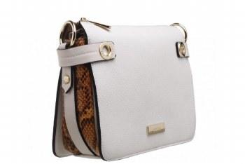 Bessie London 'BL4229' Ladies Handbag (White)