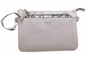 Bessie London 'BL4241' Ladies Handbag (Beige)