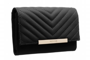 Bessie London 'BP1251' Ladies Purse (Black)