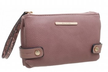 Bessie London 'BP1259' Ladies Purse (Pink)