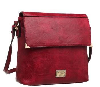 Bessie London 'BW2630' Ladies Handbag (Red)