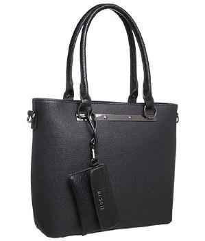 Bessie London 'BW4083' Ladies Handbag (Black)