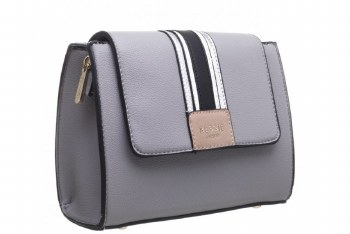 Bessie London 'BW4274' Ladies Handbag (Grey)