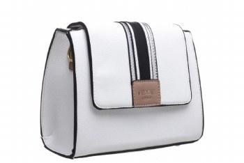 Bessie London 'BW4274' Ladies Handbag (White)
