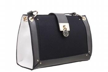Bessie London 'BW4298' Ladies Handbag (Black)