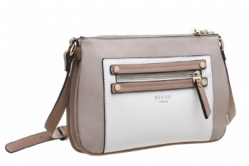 Bessie London 'BW4324' Ladies Handbag (Khaki)