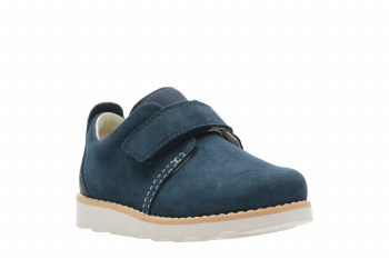 Clarks 'Crown Park' Boys Shoes (Navy)
