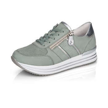 Remonte 'D1310' Ladies Runners (Mint Green)