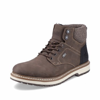 Rieker 'F3812' Mens Boots (Taupe)