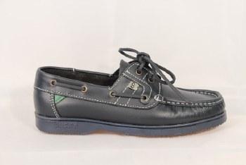 Susst 'Gaby Jnr' Deck Shoe (Navy/Navy Sole)
