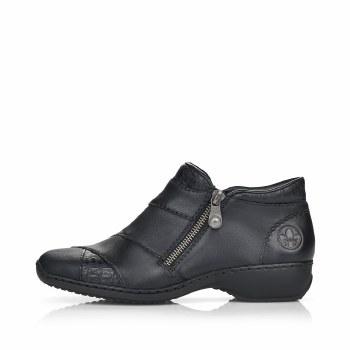 Rieker 'L3871' Ladies Ankle Boots (Black)