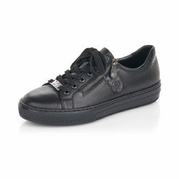Rieker 'L59L1' Ladies Shoes (Black)