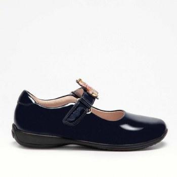 Lelli Kelly '8100' Girls School Shoes (Black Patent)