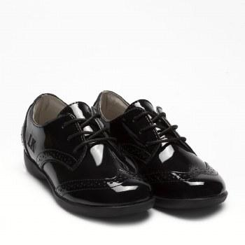 Lelli Kelly '8283 Beverly' Girls School Shoes (Black Patent)