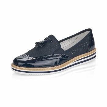 Rieker 'N0527' Ladies Shoes (Navy)
