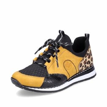 Rieker 'N3083' Ladies Sport Shoes (Mustard/Black)