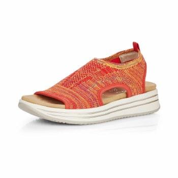 Remonte 'R2955' Ladies Sandals (Orange Multi)