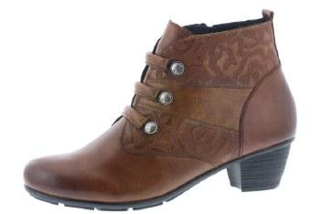 Remonte 'R7577' Ladies Ankle Boots (Chestnut)