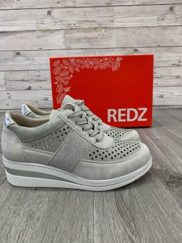 Redz '6G20602' Ladies Shoes (Grey/Silver)