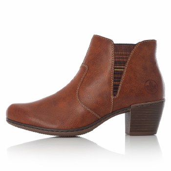 Rieker 'Y2173' Ladies Ankle Boots (Tan)