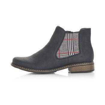 Rieker 'Z4994' Ladies Ankle Boots (Black)
