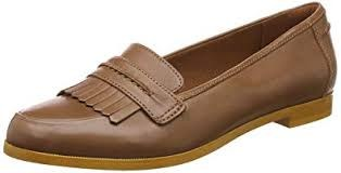 Clarks 'Andora Crush' Ladies Loafers (Tan)